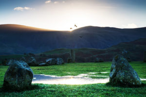 Castlerigg and Derwent Water